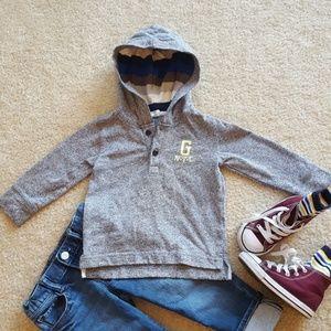 Gap stripe hoodie