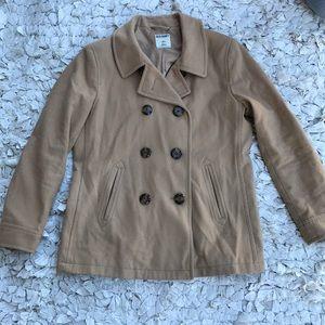 Classic Tan Pea Coat