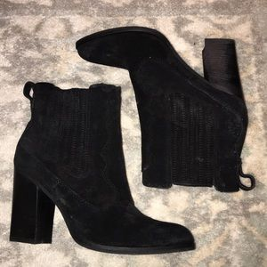 Brand new black suede Dolce Vita Bootie