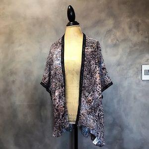 DKNY kimono throw