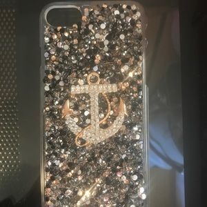 Accessories - iPhone 7 jeweled snap on Case