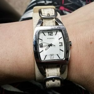 Authentic Fossil Watch Stainless Steel