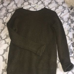 Forever21 Green Sweater