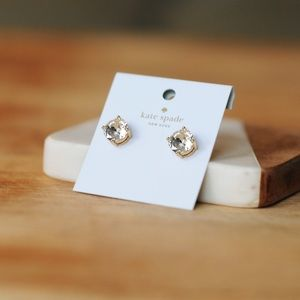 Kate Spade Diamond Gumdrop Earrings