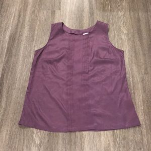 Plum Colored Sleeveless Blous From Merona