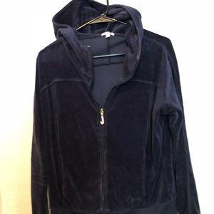 Juicy couture blue sweat suit hoodie