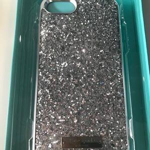 Kate Spade iphone7 glitter case