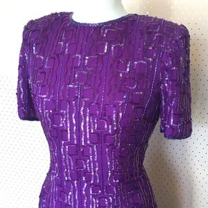 Vintage Sequin Dress
