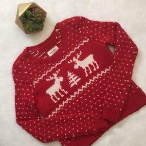 • A&F Christmas Knit Sweater •
