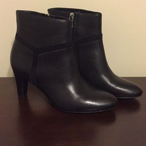 Lauren by Ralph Lauren Black Ankle Booties
