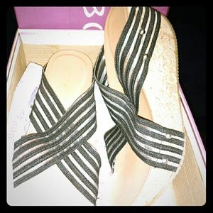 Bamboo womens high heels size 7 New in Box