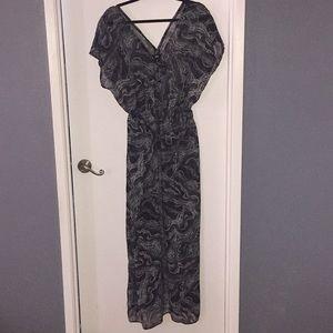 Cover maxi dress