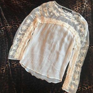 Re-posh Lace Zara blouse