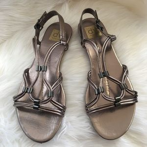 Dolce Vita 8.5 or 9 sandal bronze metallic shoes
