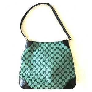 NEW Gucci Monogram canvas Hobo bag
