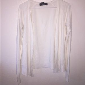 Cute, Forever 21 creme colored cardigan