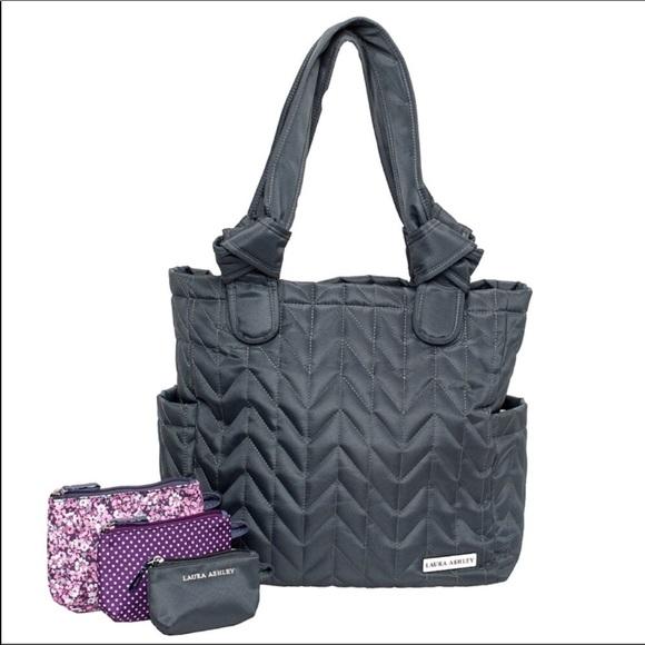 8a4644e5672b Laura Ashley Handbags - Laura Ashley diaper bag