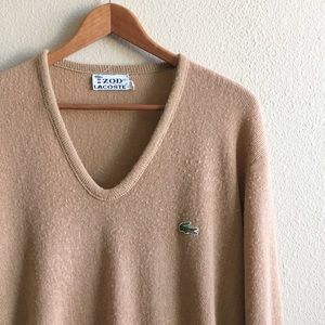 '60s / Camel Lacoste Sweater