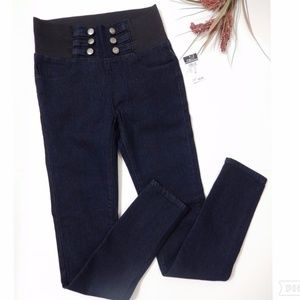 NWT Rue 21 Elastic Waist Skinny Jeans Size Small