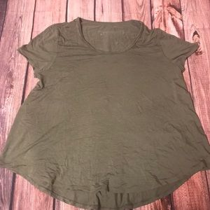 Army green T-shirt short sleeve size XL merona