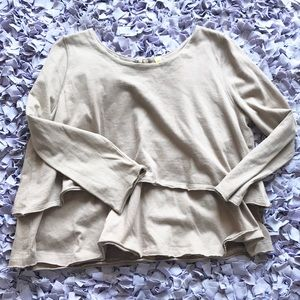 Free People Tiered Top