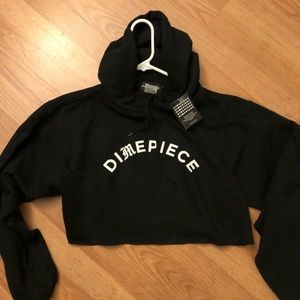 Sweaters - Dime piece cropped hoodie