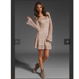 Free People Crotchet Dress