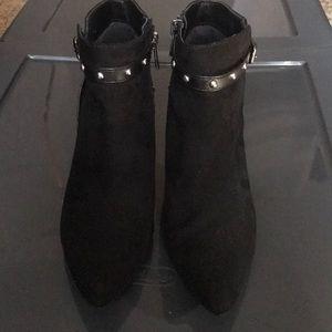 Super cute stylish black booties