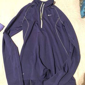 Nike dri fit long sleeve jacket