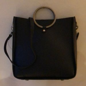 Rebecca Minkoff Metal Ring Crossbody Bag