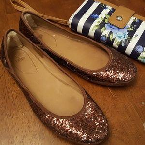 Glittery Flats