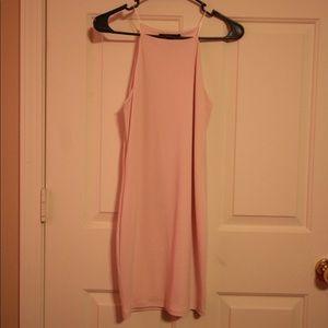 ✨FOREVER 21 mini dress in blush ✨