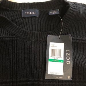 Izod Sweaters - IZOD • Men's Black Sweater