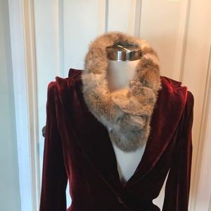 Fox Fur Scarf or Headband