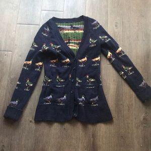 Super Rare Anthropologie Duck Sweater