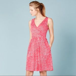 Boden Pretty Ruched Wrap Dress