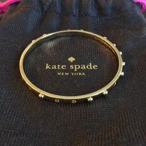 Gold Kate Spade bracelet