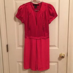 Red Marc by Marc Jacobs 100% silk dress