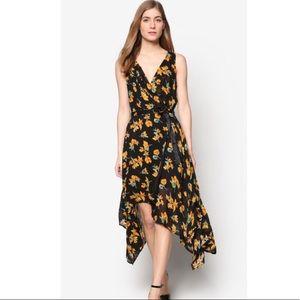 Topshop Marigold Wrap Dress