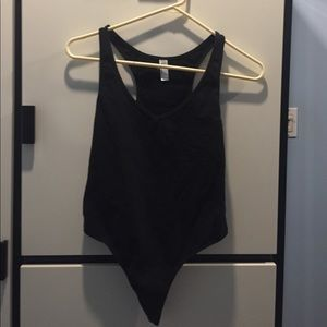 Black AA bodysuit