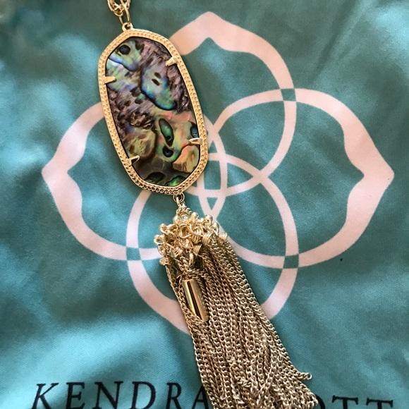 8fc265dec100fb Kendra Scott Jewelry - Kendra Scott Abalone Rayne Necklace