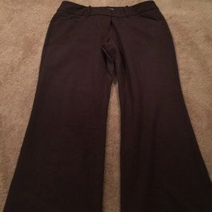 NewYork & company brown stretch Straight legpants