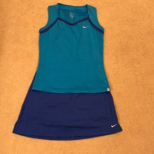 Nike Dri-Fit tennis outfit