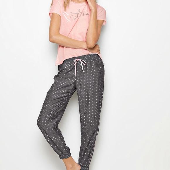 5815da1ba2dc7 Victoria's Secret Flannel Jogger Pajama Pant NWT