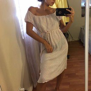 Motherhood Maternity Floral Midi Dress