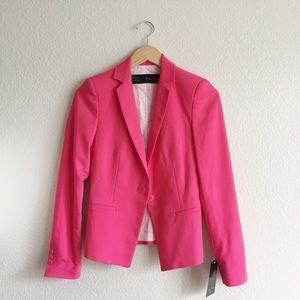 Zara Hot Pink Blazer