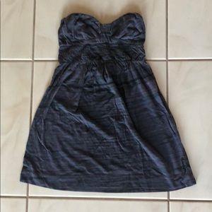 Billabong Size Small Strapless Cotton Dress