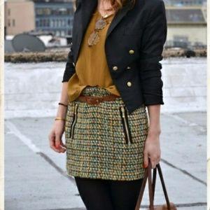 J.Crew Factory Tweed Skirt
