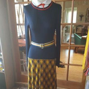 Super cute 60s 70s vintage maxi dress
