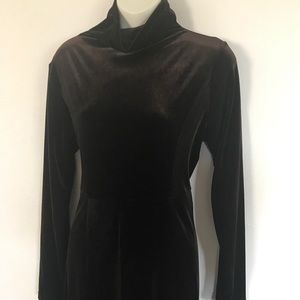Moda International Velvet Maxi Dress